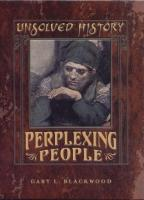 Ouvrages en langue �trang�re Perplexing People Gary L. Blackwood