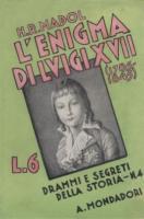Ouvrages en langue �trang�re L'Enigma di Luigi XVII (1785-1845) Hans-Roger Madol