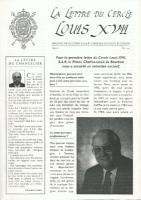 Journaux & revues La Lettre du Cercle Louis XVII