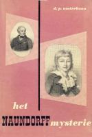 Ouvrages en langue �trang�re Het Naundorff Mysterie D. P. Oosterbann