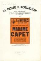 Pi�ces de th�atre Madame Capet Marcelle-Maurette