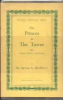 Ouvrages en langue �trang�re The Princes in the tower and other Royal Mysteries Arthur Salusbury Mac Nalty