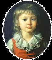 Portrait Louis XVII Callet