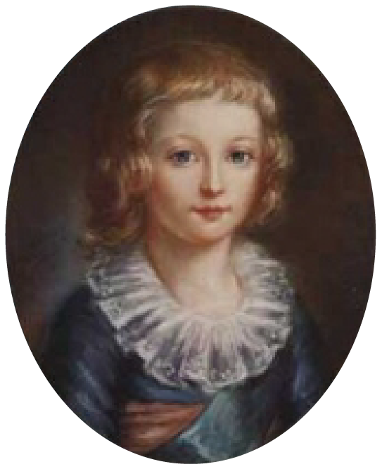 peinture de louis xvii