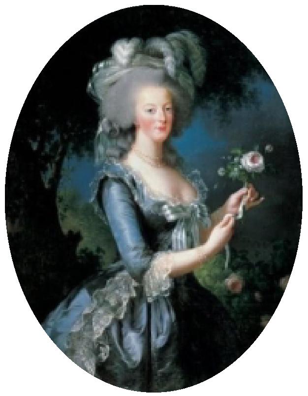 Peinture Marie-Antoinette